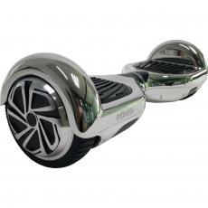 """Гироборд Rover M1 6.5"""" Chrome silver"""