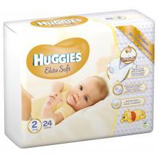 Подгузник Huggies Elite Soft 2 Conv (4-7 кг) 24 шт (5029053564906)