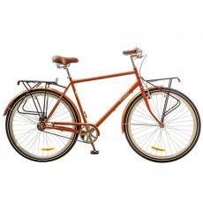"""Велосипед Дорожник 28"""" COMFORT MALE 14G Velosteel St коричневый (OPS-D-28-092)"""