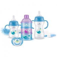 Набор для кормления новорожденных BAYBY 6 мес+ синий (BGS6203)