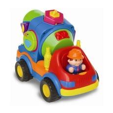 Kiddieland - preschool - Развивающая игрушка - БЕТОНОМЕШАЛКА-СОРТЕР (на колесах, звук)